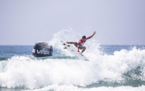 Hawaiian Moniz Headlines Vans US Open Day 1