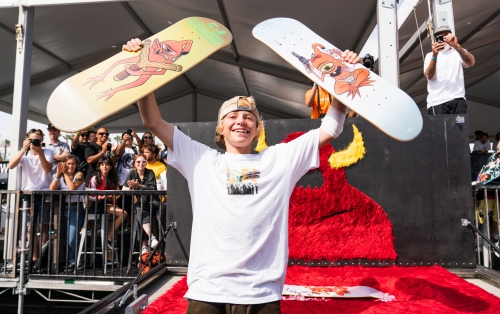 CJ Collins Goes Pro for Toy Machine
