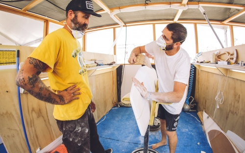 Gallery: Day 4 - Vans Surfboard Experience & Shaping Bay