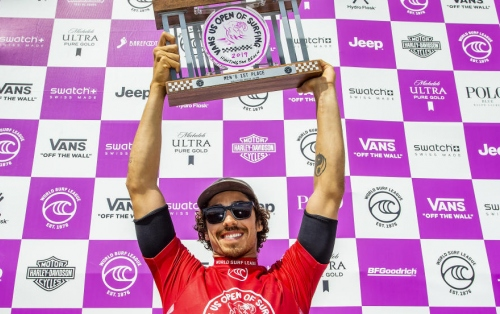 Yago Dora Takes His First Win at Vans US Open