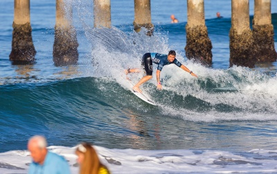 Brazilians Dominate Day with Standout Performances at Vans US Open of Surfing pres. by Swatch