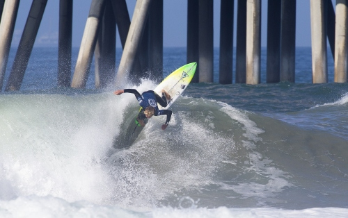 Top Pro Juniors Smash Into Opening Day at Vans US Open