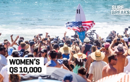 Surf Breaks: July 25, Women's QS 10k